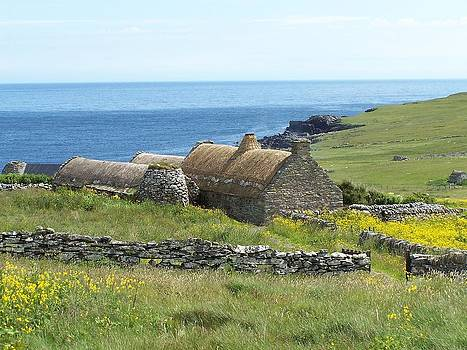 Shetland Croft House Museum by George Leask