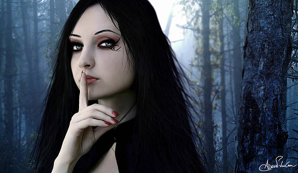 Shhh by Adro Von Crow