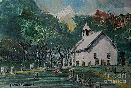 Shiloh Church by Donald McGibbon