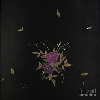 Shimmery Roses by Dye n  Design