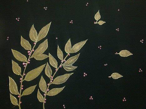 Shining leaves by Dye n  Design