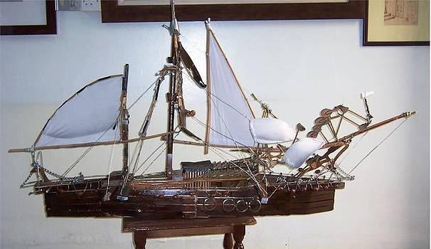 Ship by Ahmad Subaih