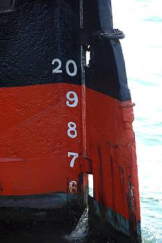 Ship Rudder by Ryan Louis Maccione