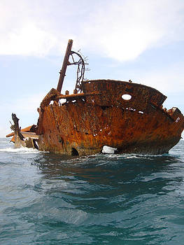 Shipwreck by Kamel Rekouane
