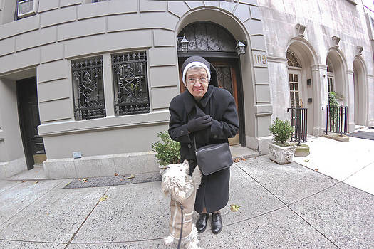 Shira The Nun And The Fisheye by Jeff Landau
