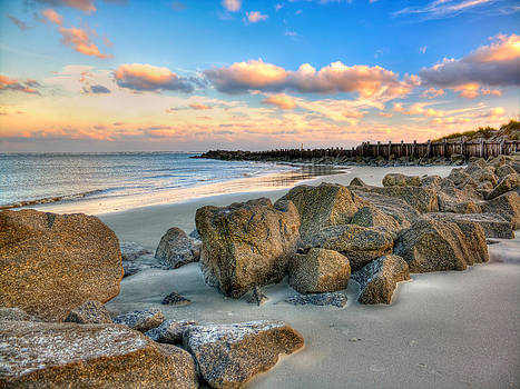 Shoreline Folly Beach by Jenny Ellen Photography