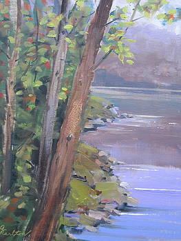 Shoreline by Georgene Carlton