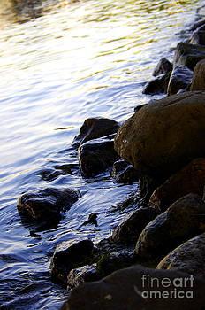 Shoreline Rocks by Valerie Hesslink