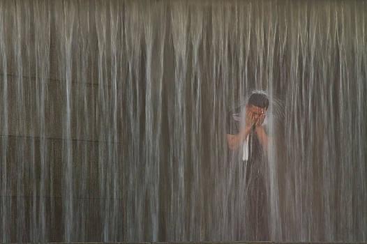Shower by Gabor Pozsgai