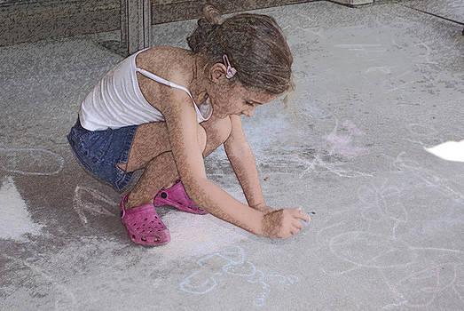 Sidewalk Chalk by Karen Puckett