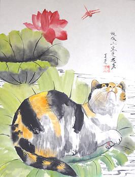 Siesta On The Lotus by Lian Zhen