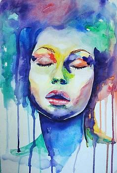 Silence-Silencio by Lourdes  Tejeda
