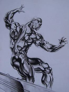 Silver surfer by Luis Carlos A