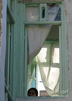 simple window in Damascus by Issam Hajjar