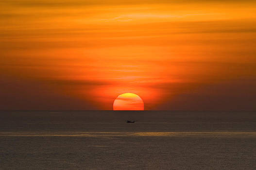 Simply Sunset by Ng Hock How