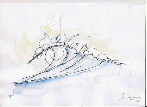 Single Wave by Fernando Bari