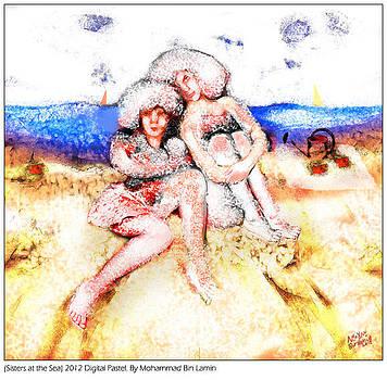 Sisters at the Sea by MBL Binlamin