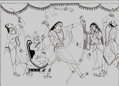 Sita Swayamvar by Badri Narayanan