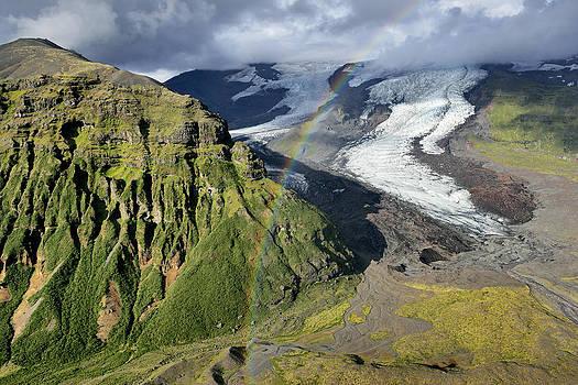 Skaftafellsjokull Tongue of the Vatnajokull Glacier - Iceland by Phil Degginger