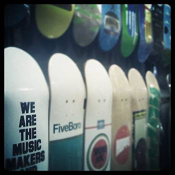 #skateboard #shop #color #webstagram by Krista Hudson
