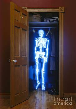 Skeleton in the closet by Tony Cordoza