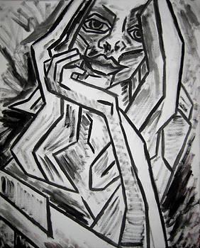 Kamil Swiatek - Sketch - Intrigued