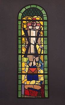 Sketch of a Stained Glass Window by Georges Braque