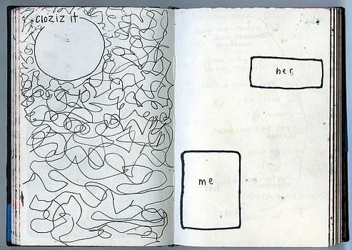 Sketchbook Me and Her by Elliott James
