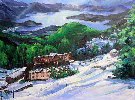 Skier's View by Barbara Field
