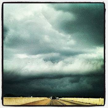 #skies #drivinghome #clouds by Esther Huynh