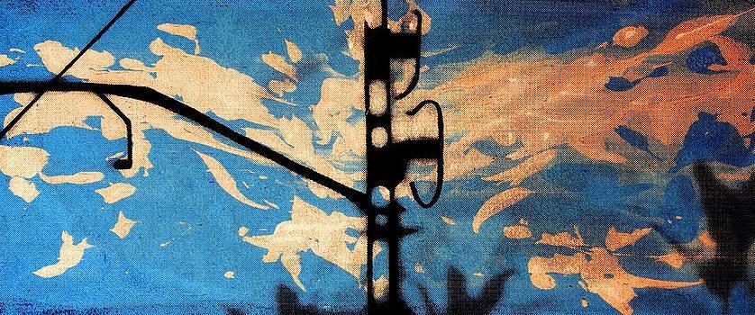 Arte Venezia - Sky - Travel serigraphic art