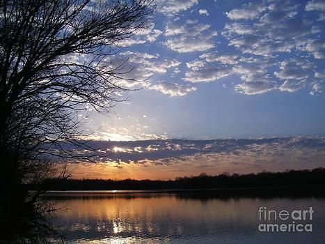 Sky at Dusk by Charleen Treasures