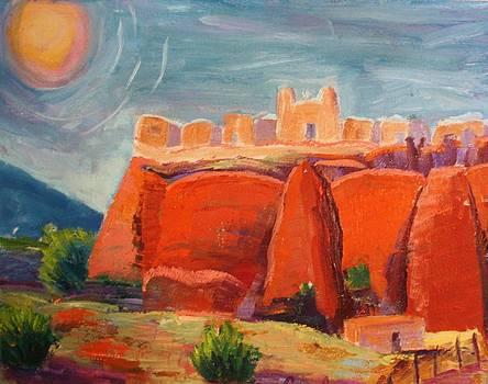 Sky City by Carolene Of Taos