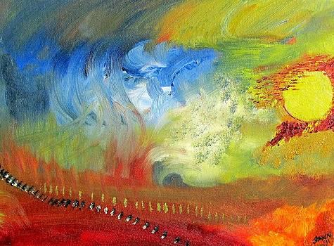Sky Goddess by Fawn Whelahan