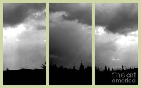 Art Studio - Sky In Black and White