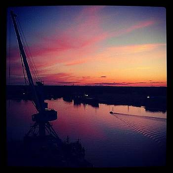 Skyline #sky #river by Luise Sommer