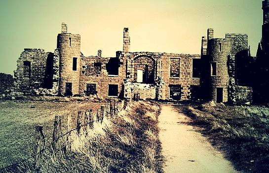 Slains Castle by Angela Kelman