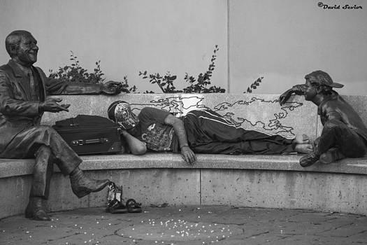 Sleeping by David Sevior
