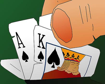 Sleeping Kings Rule by Casino Artist
