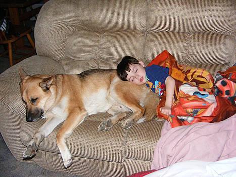 Sleepy Boys by Sheri Bartay