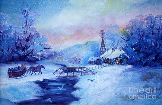 Sleigh Ride by Judy Groves