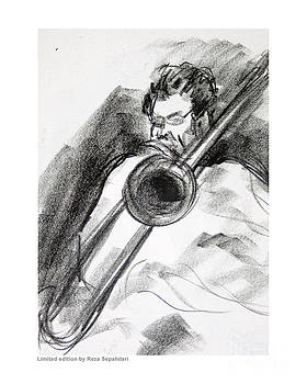 Slide Trombone by Reza Sepahdari