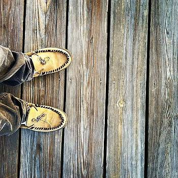 Slippers on the Dock of the Bay by Jason Ogle
