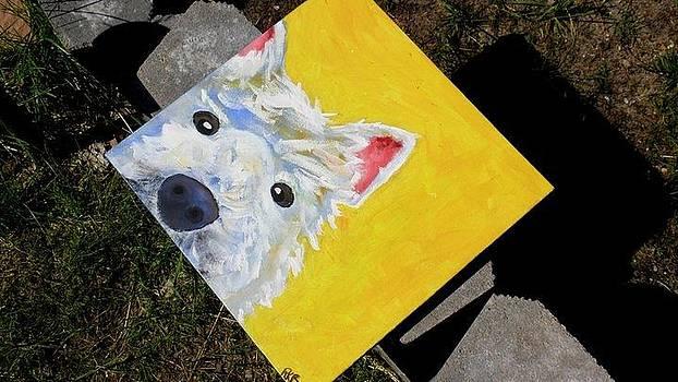 Small Dog by Rachel Bodak