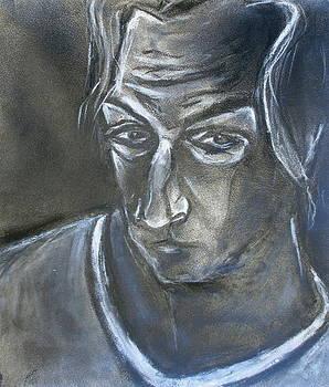 Kenneth Agnello - Small Self-Portrait - 1983