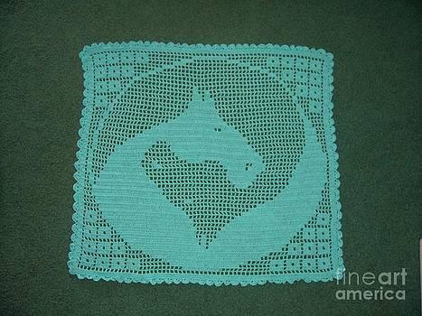Filet Crochet For Horse Lovers Artwork For Sale West Fork
