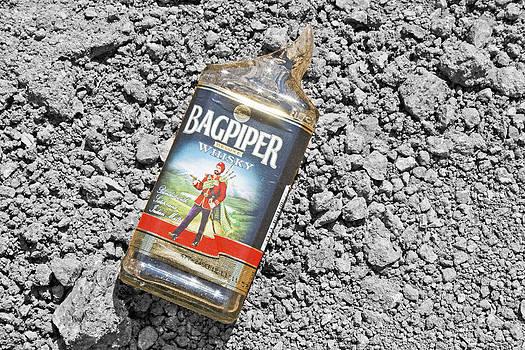 Kantilal Patel - Smashed bottle Indian whisky