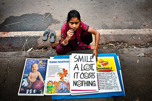 Smile A Lot It Costs Nothing by Subpong Ittitanakul