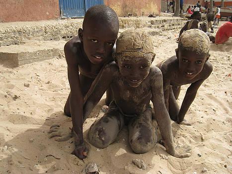 Smile From Dakar by Kamel Rekouane
