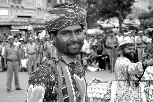 Smiling performer   by Karan Anand